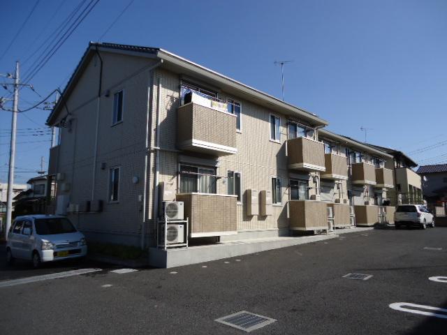 茨城県古河市、古河駅徒歩37分の築6年 2階建の賃貸アパート