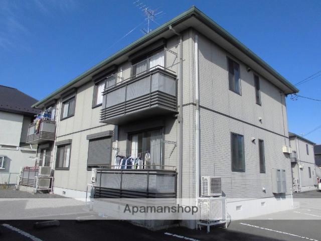 茨城県古河市、古河駅徒歩93分の築12年 2階建の賃貸アパート