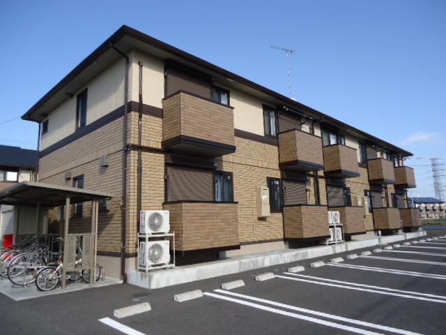 茨城県古河市、古河駅徒歩22分の築5年 2階建の賃貸アパート