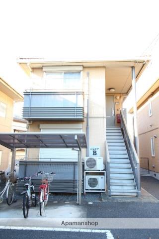 茨城県古河市、古河駅徒歩20分の築13年 2階建の賃貸アパート