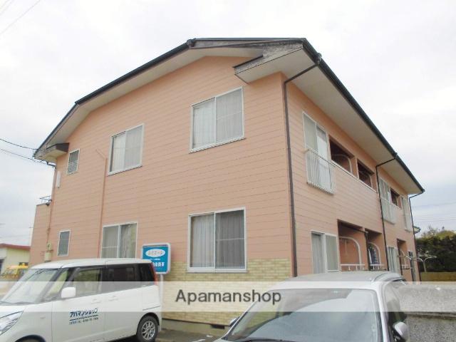 茨城県古河市、古河駅徒歩45分の築26年 2階建の賃貸アパート