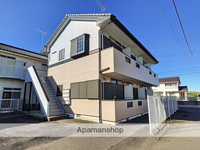茨城県古河市、古河駅茨急バス15分関戸上下車後徒歩4分の築22年 2階建の賃貸アパート