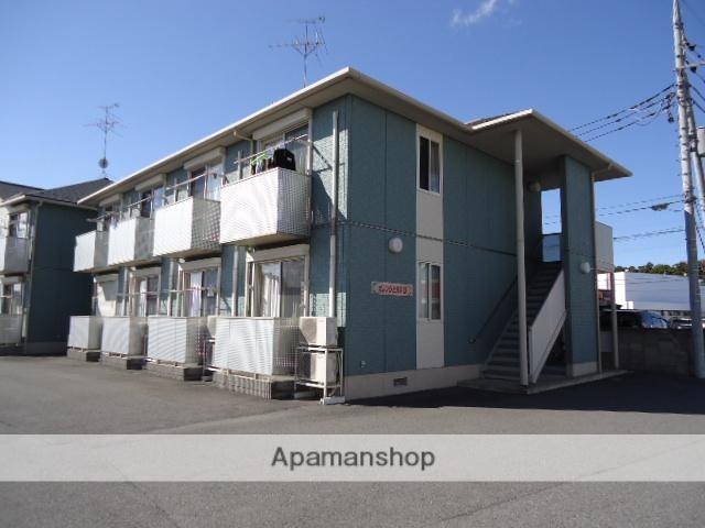 茨城県古河市、古河駅茨急バスバス13分西牛ヶ谷下車後徒歩2分の築9年 2階建の賃貸アパート