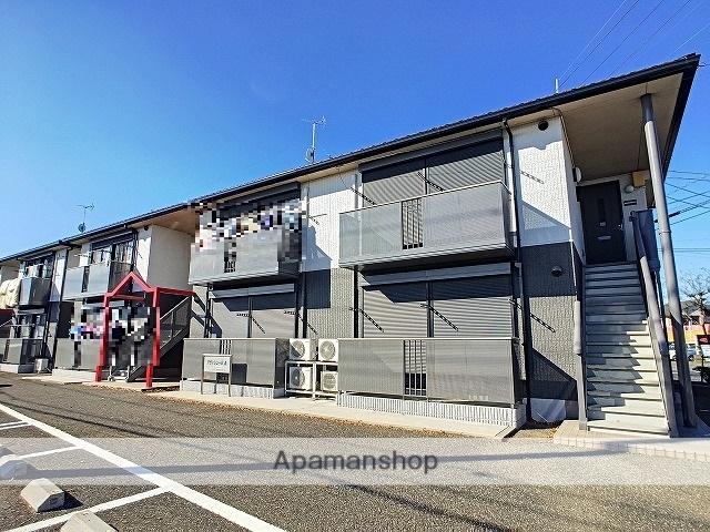 茨城県古河市、古河駅徒歩56分の築17年 2階建の賃貸アパート