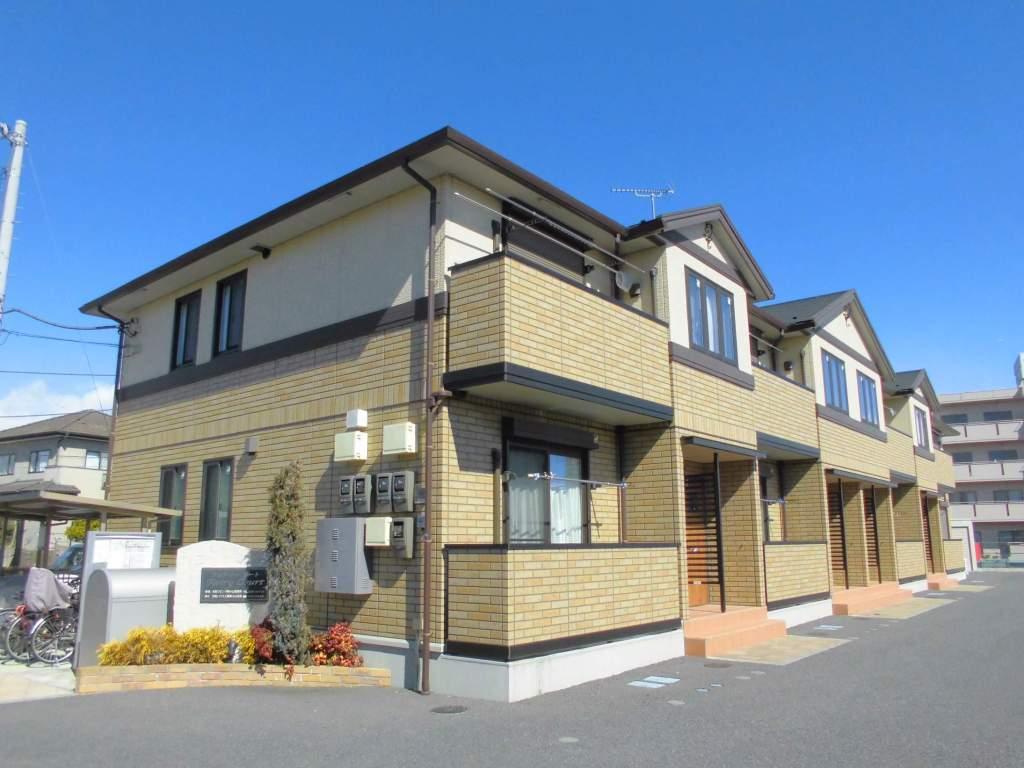 茨城県古河市、古河駅徒歩18分の築6年 2階建の賃貸アパート