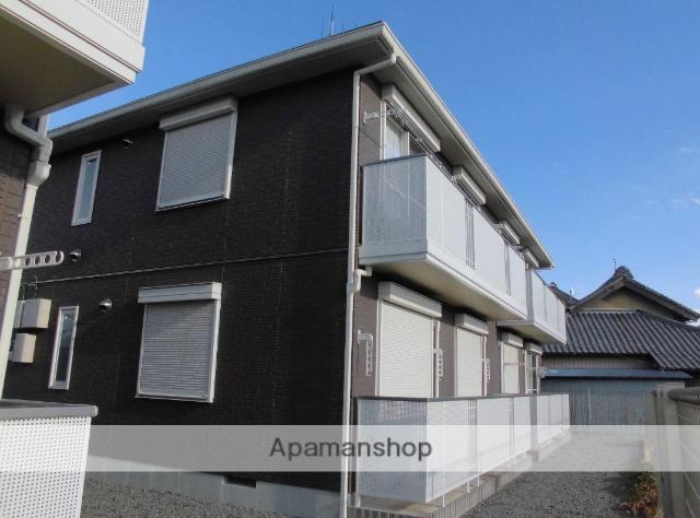 茨城県古河市、古河駅バス17分中田八幡前下車後徒歩1分の築10年 2階建の賃貸アパート