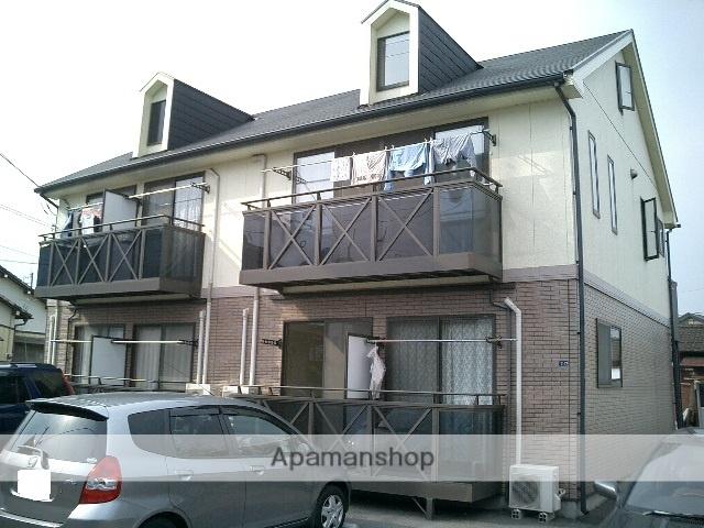 茨城県古河市、古河駅徒歩8分の築17年 2階建の賃貸アパート