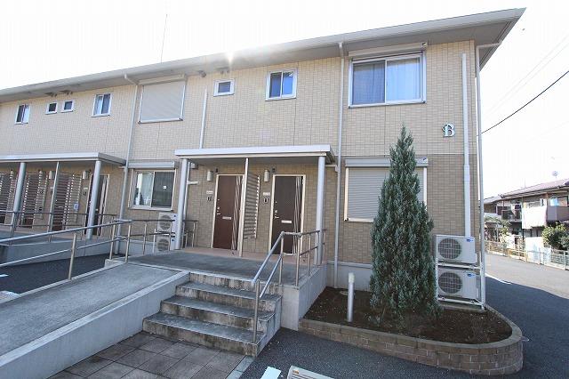 茨城県古河市、古河駅徒歩34分の築5年 2階建の賃貸アパート