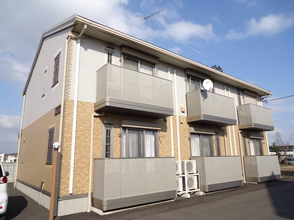 茨城県古河市、古河駅徒歩50分の築5年 2階建の賃貸アパート