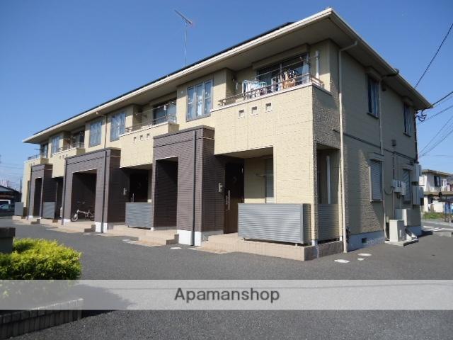 茨城県古河市、古河駅徒歩15分の築9年 2階建の賃貸アパート
