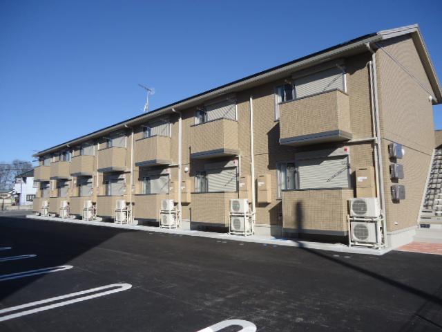 茨城県古河市、古河駅徒歩46分の築3年 2階建の賃貸アパート