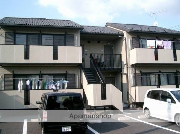 茨城県古河市、古河駅徒歩35分の築15年 2階建の賃貸アパート