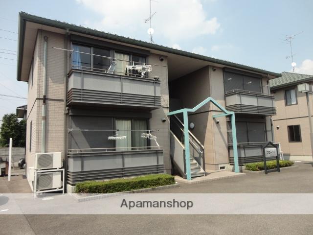 茨城県古河市、古河駅バス25分久能下車後徒歩10分の築14年 2階建の賃貸アパート