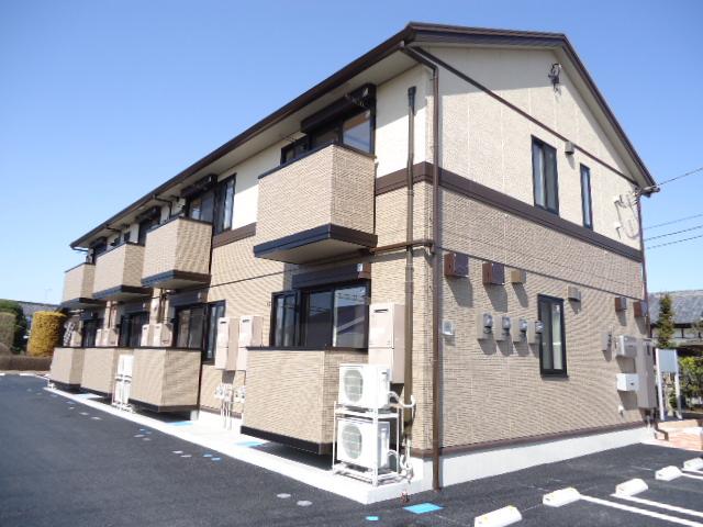 茨城県古河市、古河駅徒歩49分の築1年 2階建の賃貸アパート
