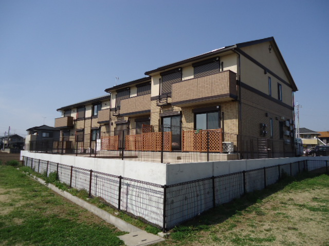 茨城県古河市、古河駅徒歩33分の築1年 2階建の賃貸アパート