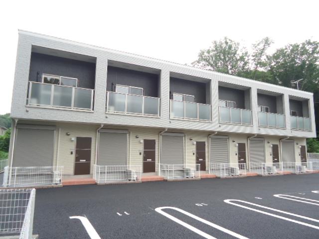 茨城県古河市、古河駅バス20分明神下下車後徒歩9分の築1年 2階建の賃貸テラスハウス