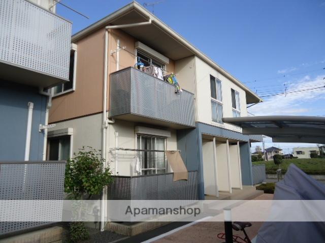 茨城県古河市、古河駅徒歩45分の築10年 2階建の賃貸アパート
