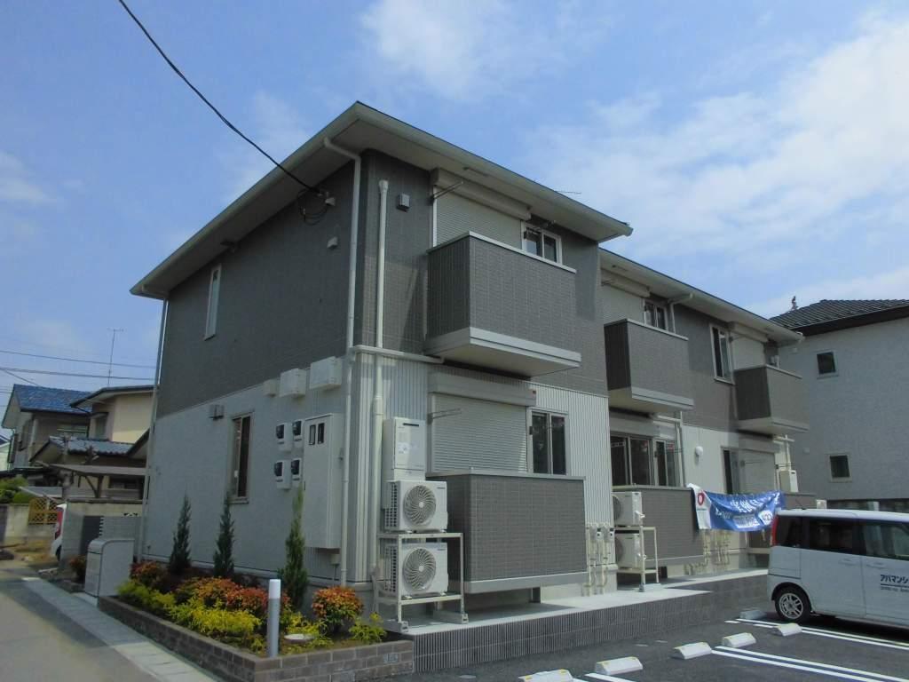 栃木県下都賀郡野木町、野木駅徒歩21分の新築 2階建の賃貸アパート