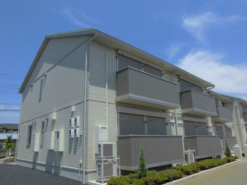 茨城県古河市、古河駅徒歩19分の新築 2階建の賃貸アパート