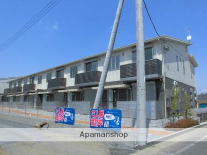 茨城県古河市、古河駅徒歩35分の新築 2階建の賃貸アパート