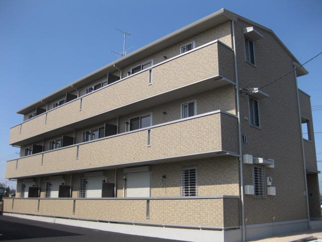 茨城県古河市、古河駅徒歩29分の築7年 3階建の賃貸マンション
