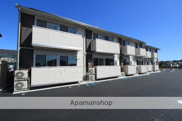 茨城県古河市、古河駅徒歩58分の新築 2階建の賃貸アパート