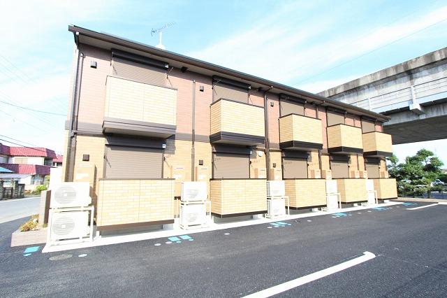 茨城県古河市、古河駅徒歩51分の新築 2階建の賃貸アパート