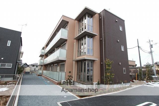 茨城県古河市、古河駅徒歩13分の新築 3階建の賃貸マンション