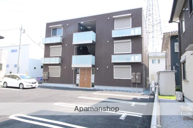 茨城県古河市、古河駅徒歩23分の新築 3階建の賃貸マンション