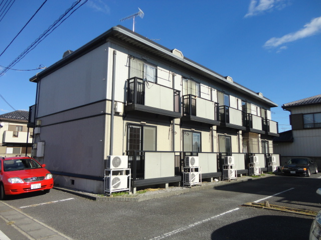 栃木県小山市、野木駅徒歩46分の築19年 2階建の賃貸アパート