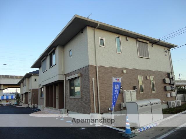 茨城県古河市、古河駅徒歩60分の築5年 2階建の賃貸アパート