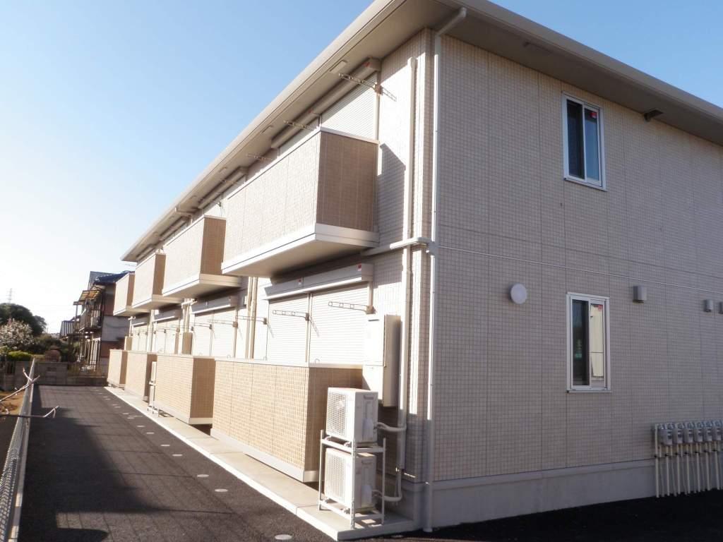 茨城県古河市、古河駅徒歩105分の築4年 2階建の賃貸アパート