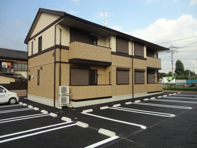 茨城県古河市、古河駅徒歩28分の築4年 2階建の賃貸アパート