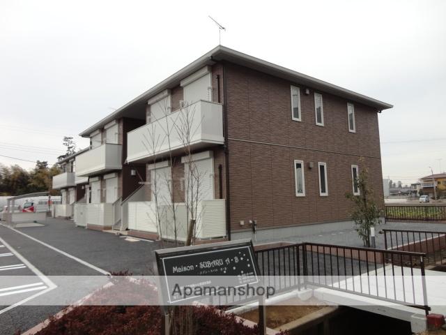 茨城県古河市、古河駅徒歩48分の築2年 2階建の賃貸アパート