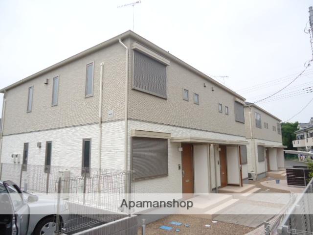 茨城県古河市、古河駅徒歩32分の築2年 2階建の賃貸アパート