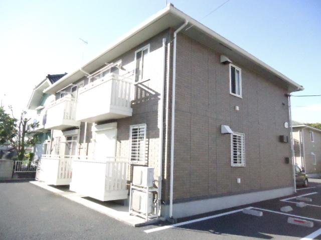 茨城県古河市、古河駅徒歩33分の築9年 2階建の賃貸アパート