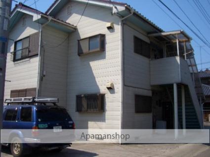 茨城県古河市、古河駅徒歩38分の築20年 2階建の賃貸アパート