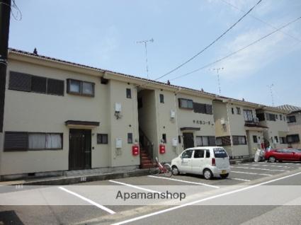 茨城県古河市、古河駅徒歩25分の築24年 2階建の賃貸アパート