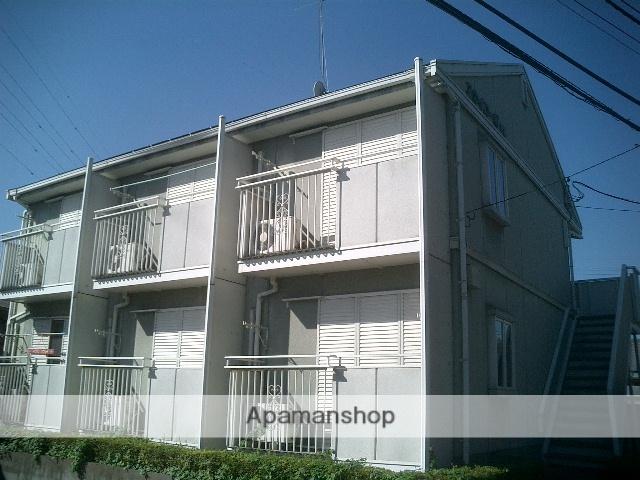 茨城県古河市、古河駅徒歩21分の築23年 2階建の賃貸アパート