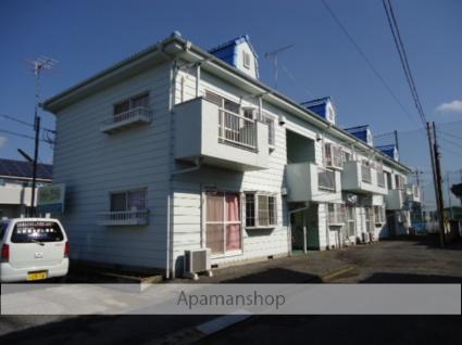 茨城県古河市、古河駅バス12分上辺見下車後徒歩10分の築23年 2階建の賃貸アパート