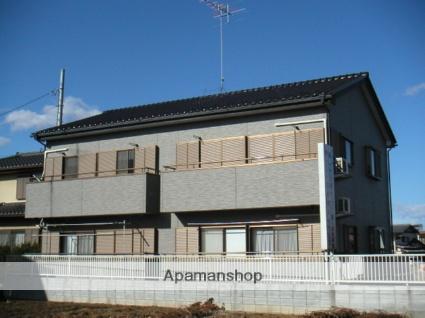 茨城県古河市、古河駅徒歩50分の築18年 2階建の賃貸アパート