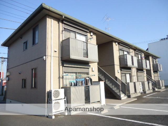 茨城県古河市、古河駅徒歩30分の築14年 2階建の賃貸アパート