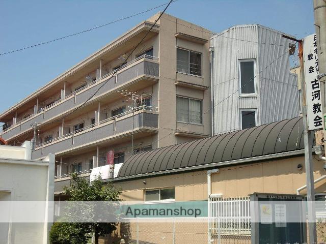 茨城県古河市、古河駅徒歩8分の築27年 4階建の賃貸マンション