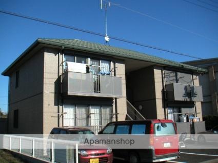 茨城県古河市、古河駅バス17分けやき平入口下車後徒歩8分の築15年 2階建の賃貸アパート