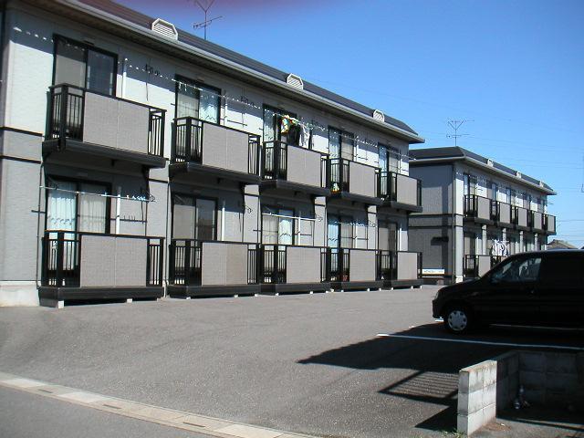 埼玉県加須市、柳生駅徒歩5分の築19年 2階建の賃貸アパート