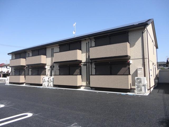 栃木県下都賀郡野木町、野木駅徒歩17分の築3年 2階建の賃貸アパート