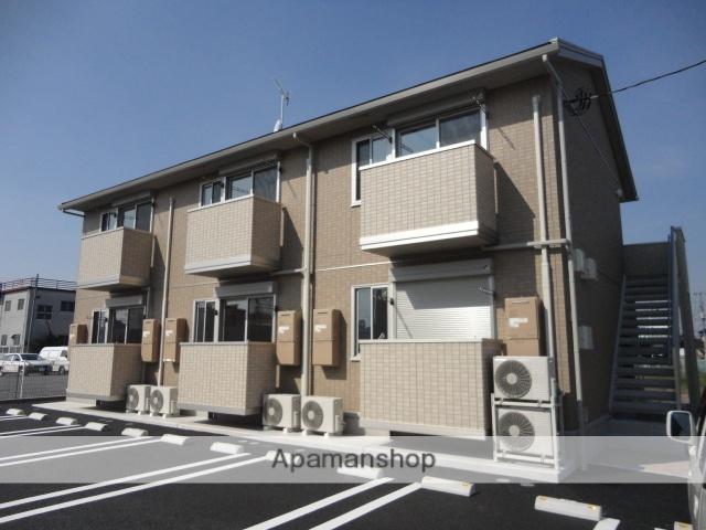 茨城県古河市、古河駅徒歩17分の築2年 2階建の賃貸アパート