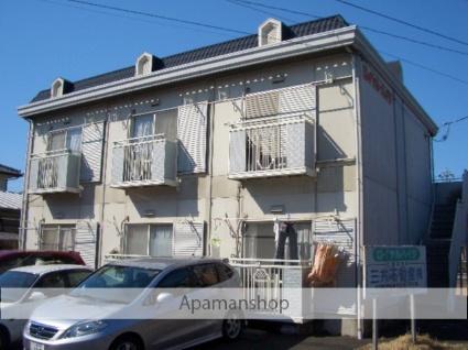 茨城県古河市、古河駅徒歩32分の築28年 2階建の賃貸アパート