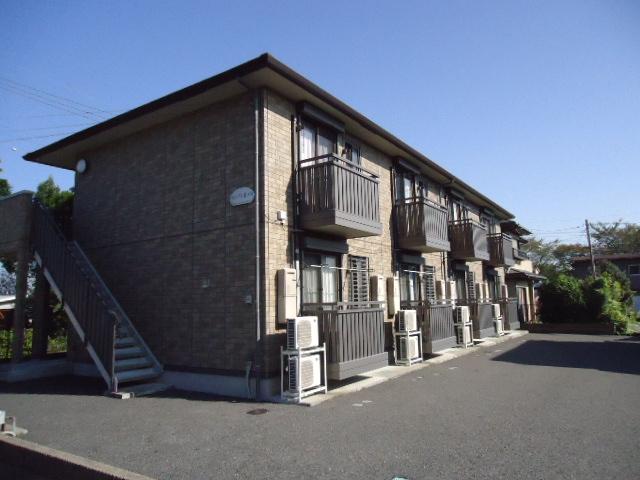 茨城県古河市、古河駅徒歩32分の築9年 2階建の賃貸アパート