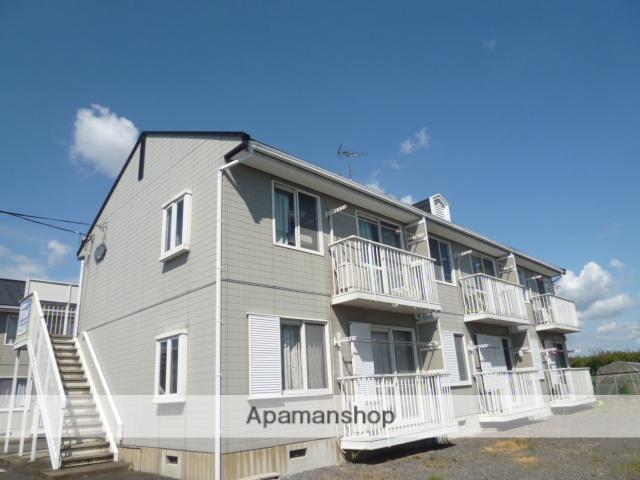 茨城県笠間市、友部駅徒歩5分の築23年 2階建の賃貸アパート